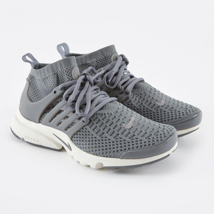 Nike Air Presto Flykknit Ultra - Cool Grey (Image 1)