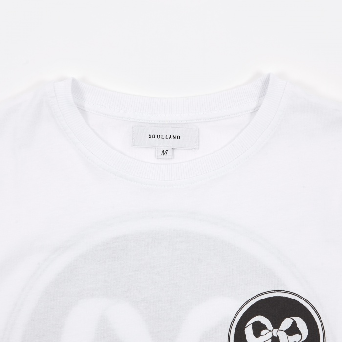 Soulland Ribbon T-Shirt - White (Image 1)