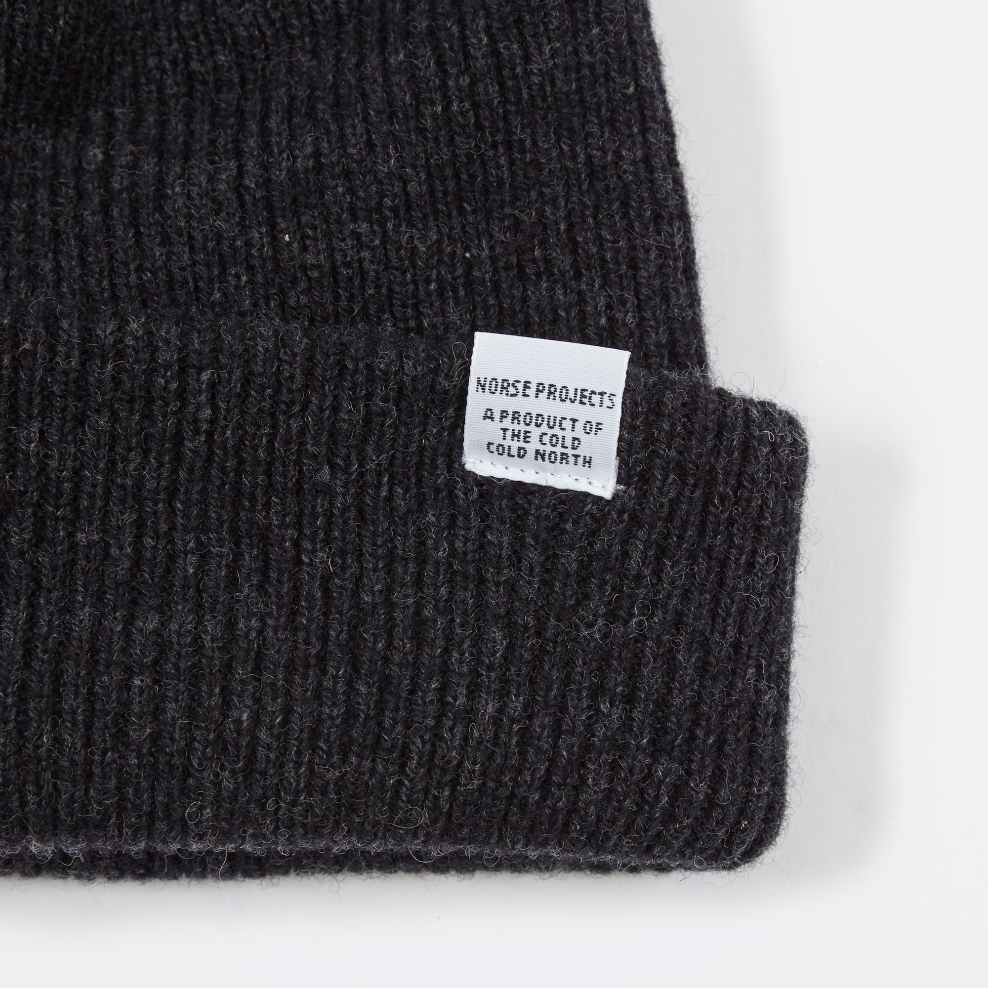fa0919e679dec Norse Projects Norse Beanie - Charcoal Melange