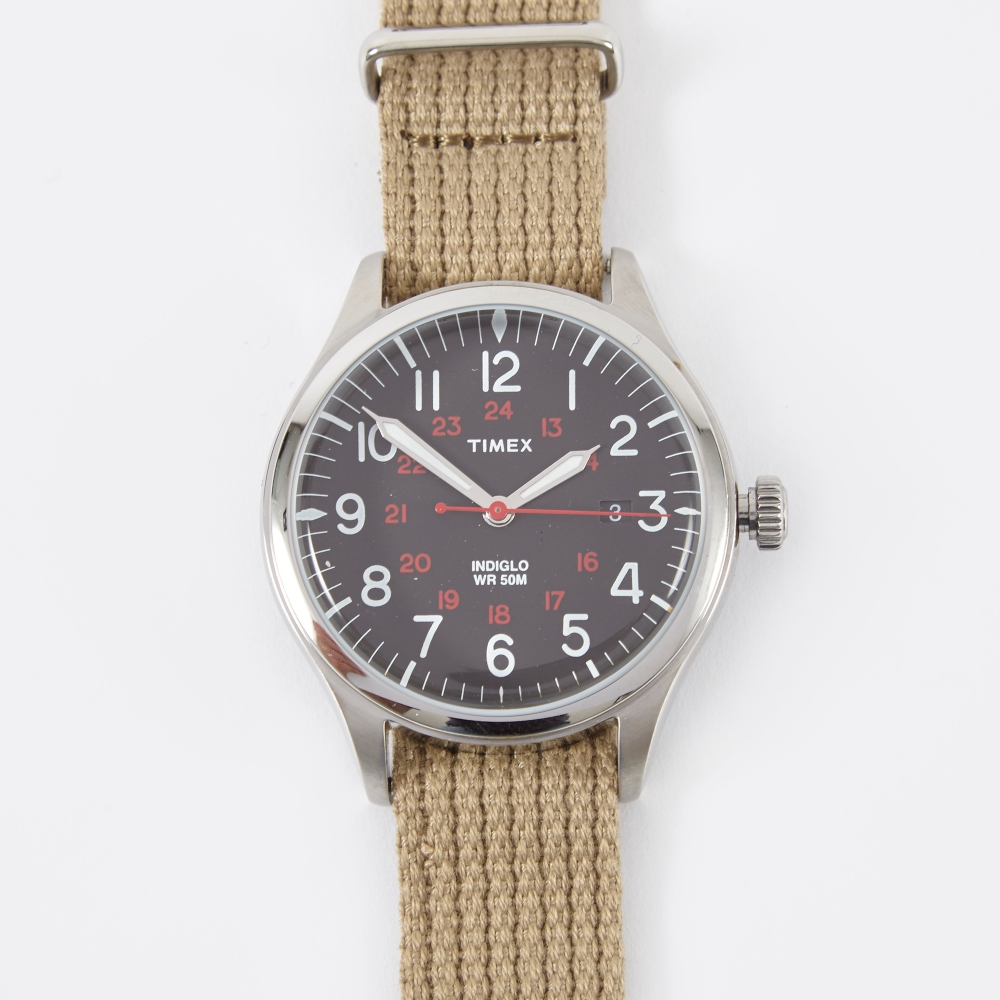 Timex Archive Waterbury United - Sand/Black