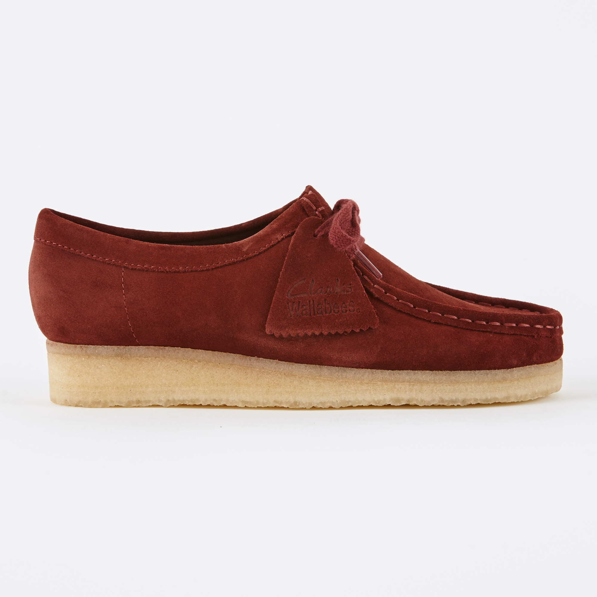 quality design 69d46 48bb3 Clarks Wallabee - Nut Brown Suede
