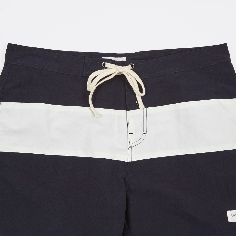 f98dfa5241 Saturdays NYC Grant Boardshorts - Midnight/White (Image 1)