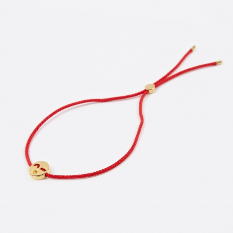 Red Cord Friends Flirty Bracelet - 18K Gold