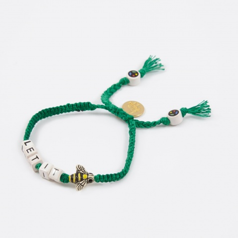 Let It Bee Bracelet - Garden Green