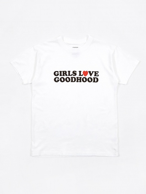 Girls Love Goodhood Tee - White