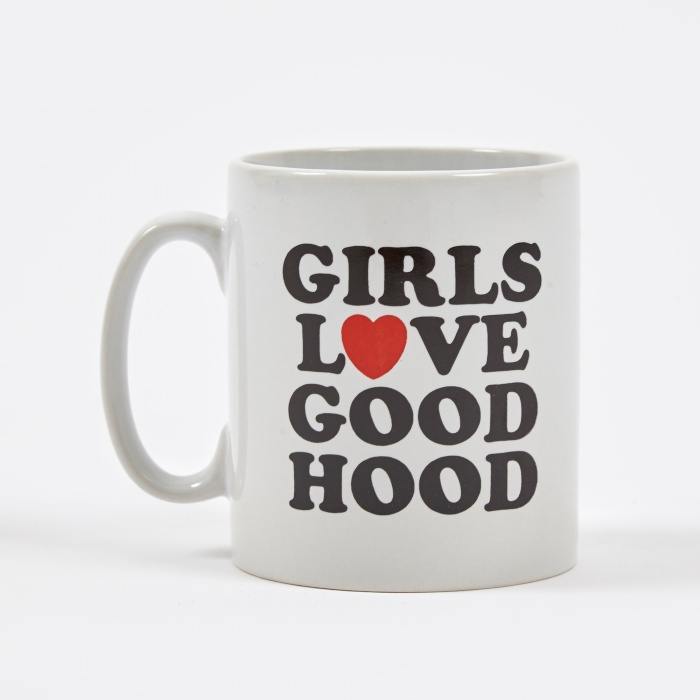 Goods By Goodhood Girls Love Goodhood Mug - White (Image 1)