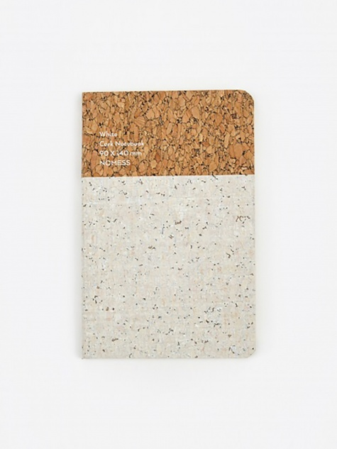 Cork Notebook White - Small