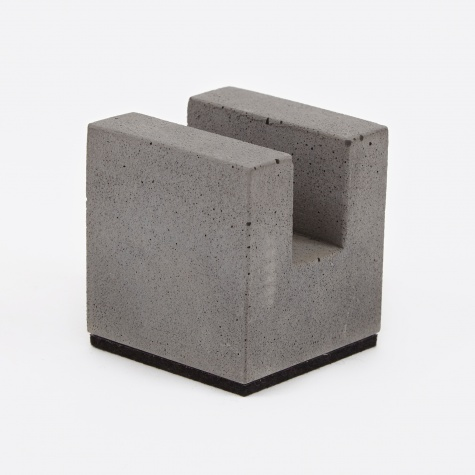 Block Business Card Holder - Concrete