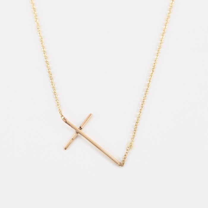 Gabriela Artigas Compass Necklace - 14K Yellow Gold (Image 1)