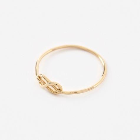 Knot Ring -  14K Yellow Gold