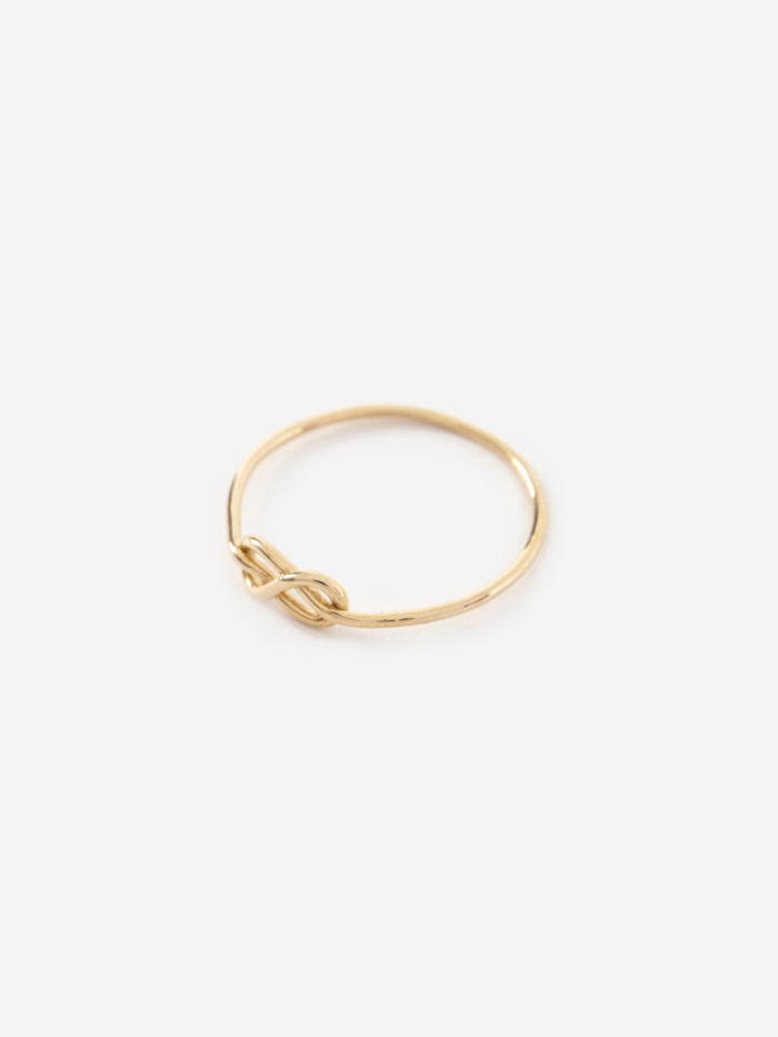 Gabriela Artigas Knot Ring - 14K Yellow Gold (Image 1)