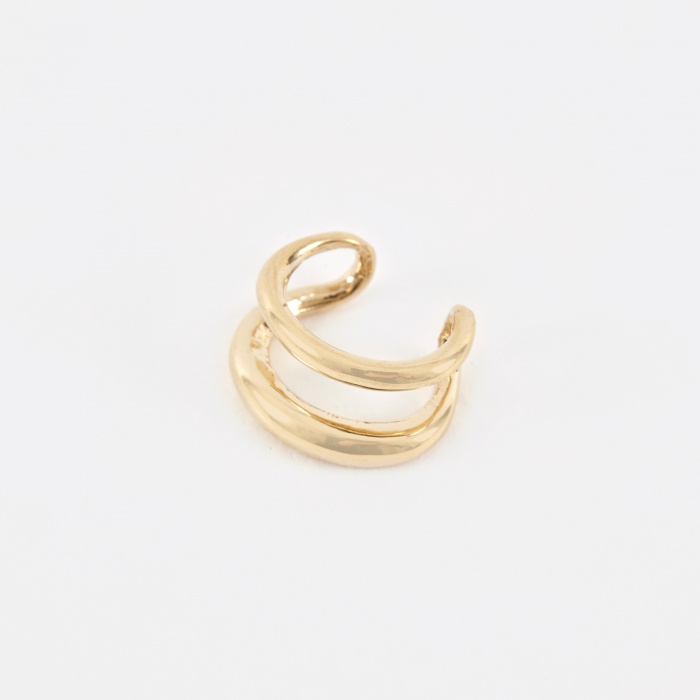 Gabriela Artigas Twin Tusk Ear Cuff - 14K Yellow Gold (Image 1)