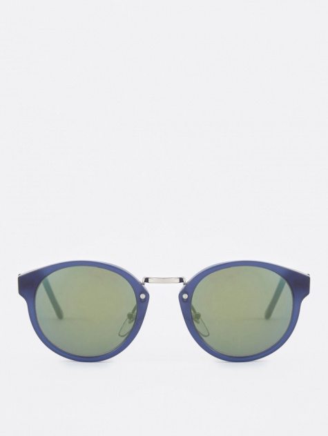 Super Panama Sunglasses - Deep Blue (Image 1)
