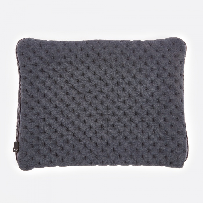 "HAY Quilt Laptop Sleeve 15"" - Grey (Image 1)"