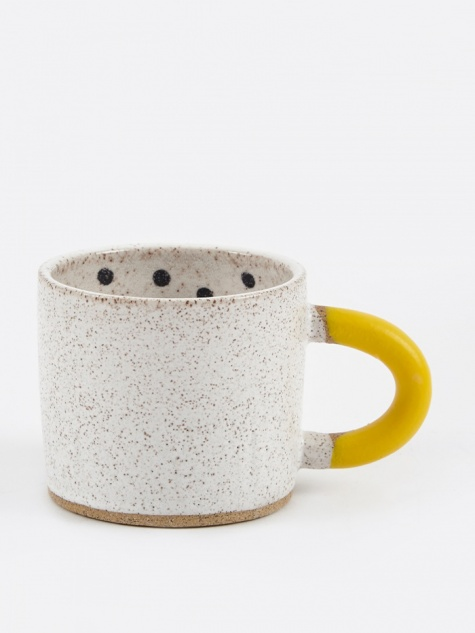Rubber-Dipped Dot Mug