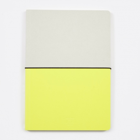 HIBI A5 Notebook - Yellow