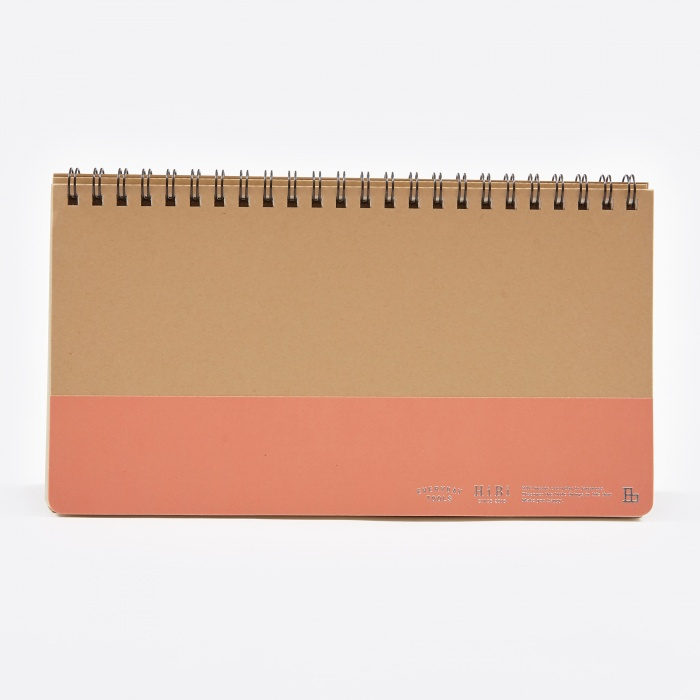 Mark's Inc. HIBI Weekly Notebook - Orange (Image 1)
