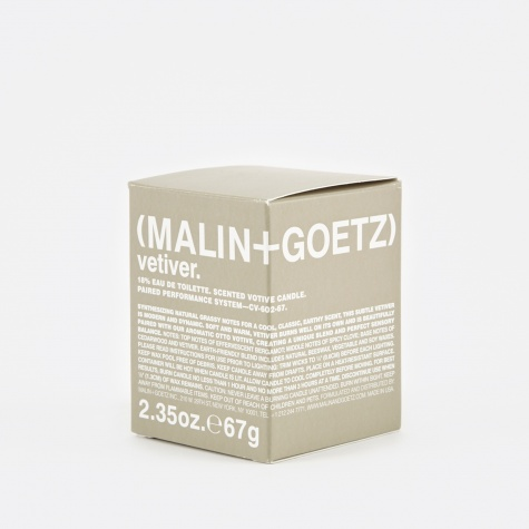 Malin+Goetz Scented Votive Candle 67g - Vetiver