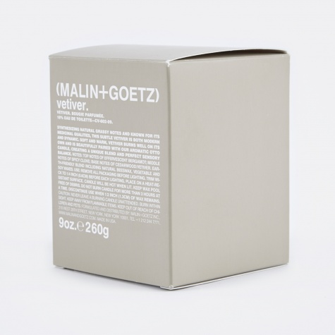 Malin+Goetz Scented Candle 260g - Vetiver