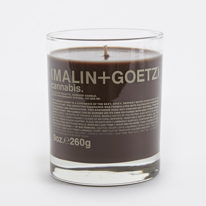 Malin+Goetz Scented Candle 260g - Cannabis (Image 1)