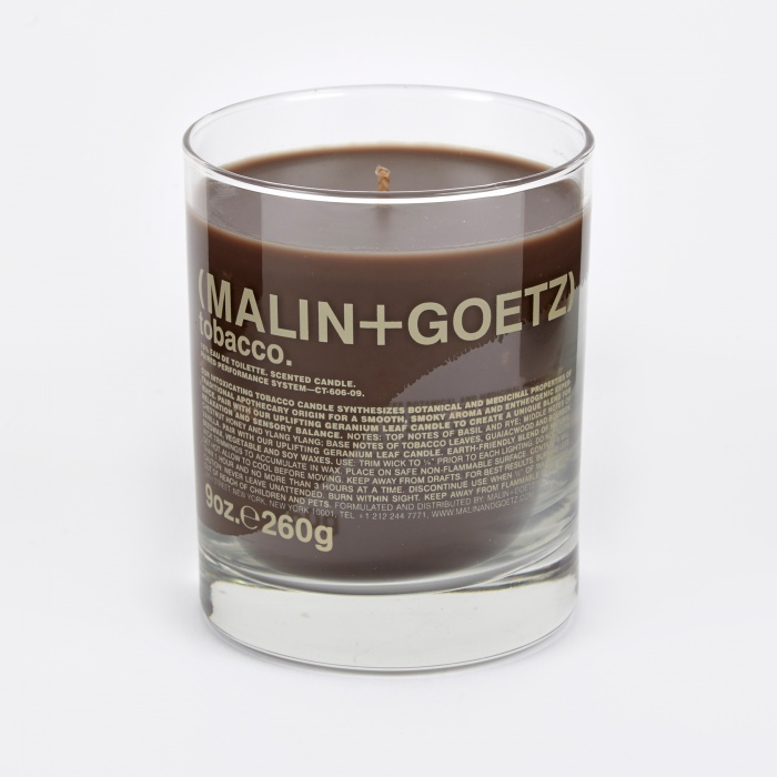 Malin+Goetz Scented Candle 260g - Tobacco (Image 1)