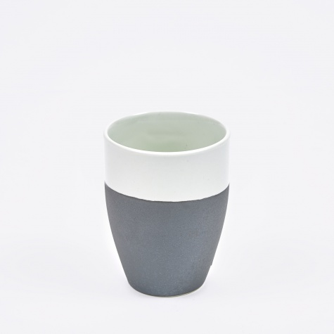 Mug 'Esrum' Stoneware - Ivory/Brown