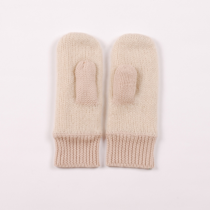 Surface To Air Fast Mittens - Ecru (Image 1)