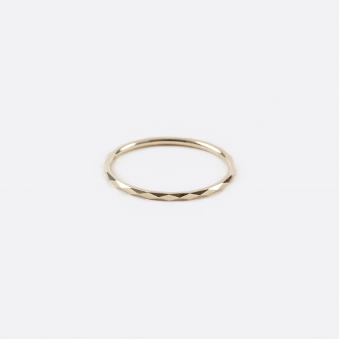 Promise Ring B - 10K Yellow Gold