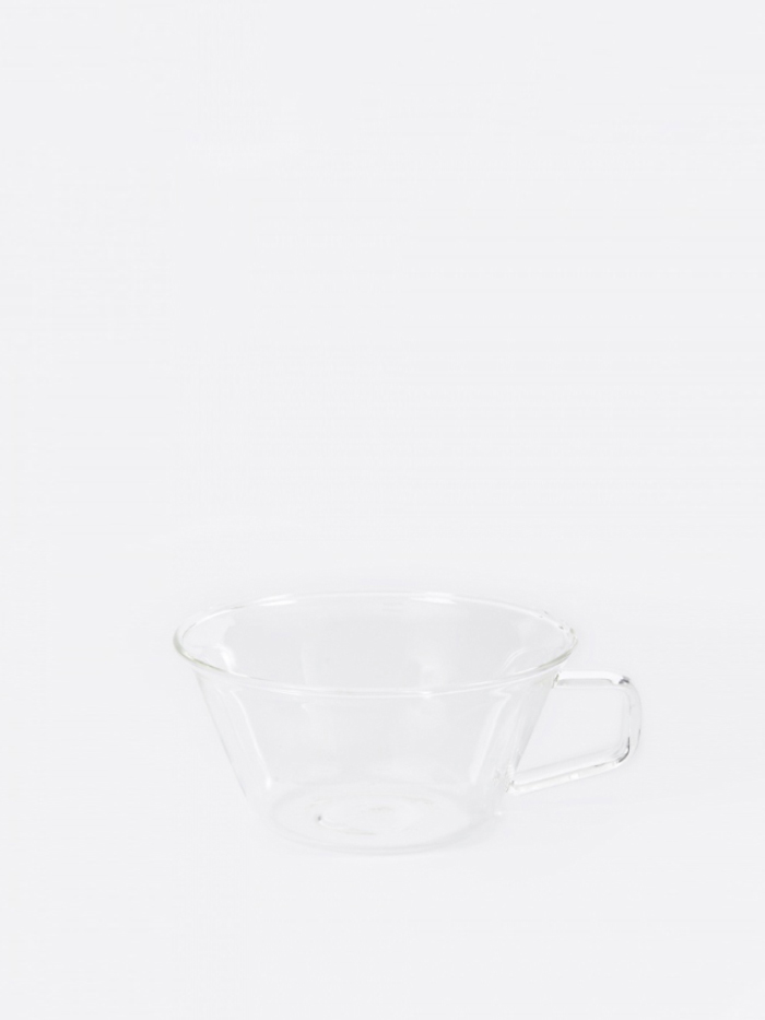Kinto Cast Espresso Cup 90ml - Clear (Image 1)