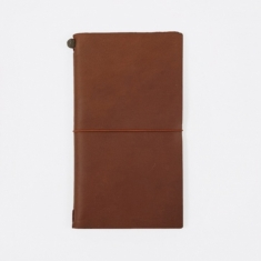 Midori Travelers Notebook - Brown