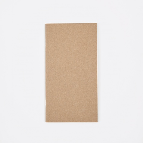 Travelers Refill Blank Notebook