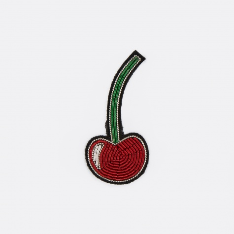 Cherry Embroidered Pin