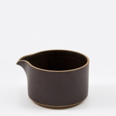 Hasami Porcelain Milk Pitcher - Black