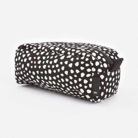 Wrong for Hay Dot Wash Bag Small - Black