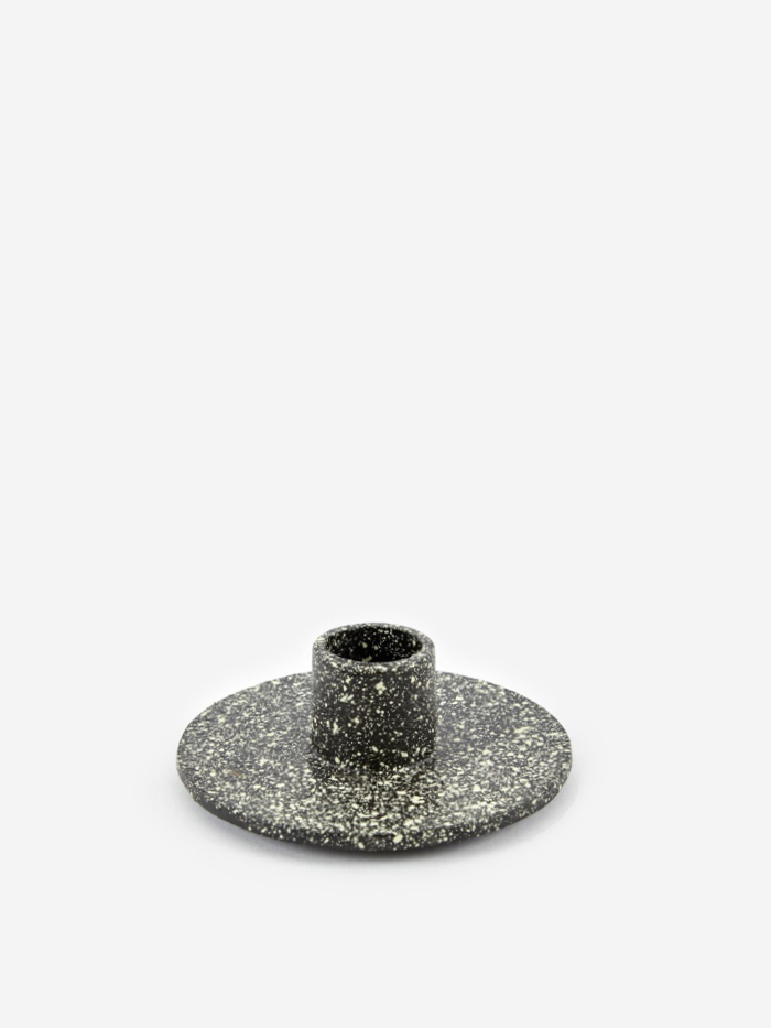 Ferm Living Cast Iron Candle Holder - Spotted (Image 1)