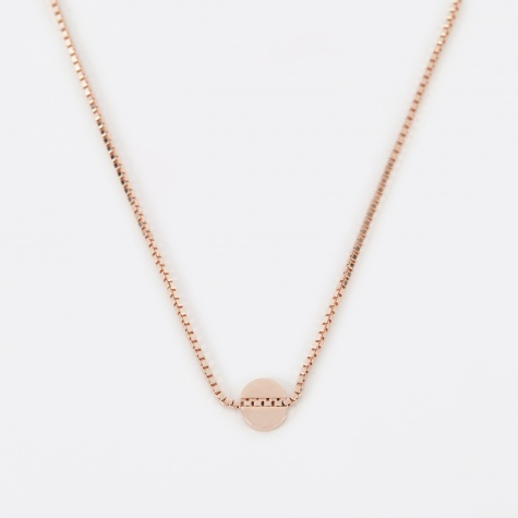 LUNE Necklace - Rose Gold