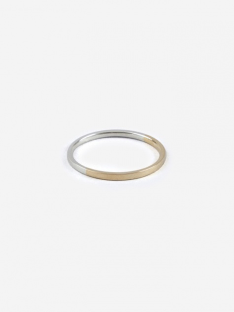 Bi-Colour Ring - 18K Gold/Silver