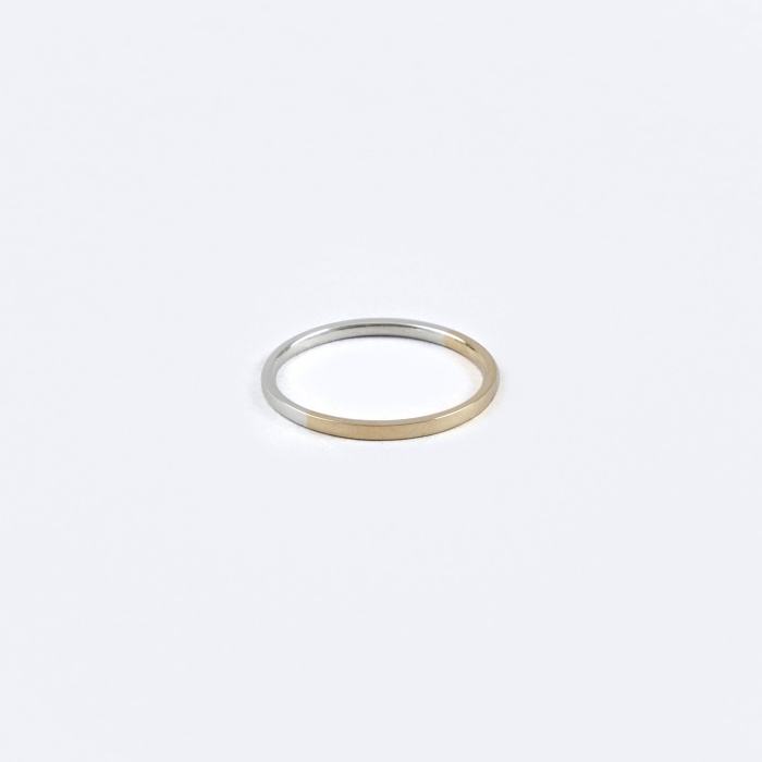 Oljei Bi-Colour Ring - 18K Gold/Silver (Image 1)