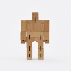Areaware Cubebot Micro - Wood