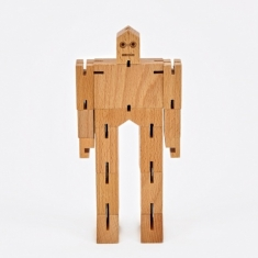 Areaware Cubebot Julien - Wood