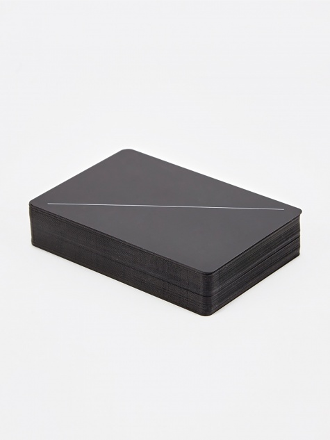 Minim Playing Cards - Black