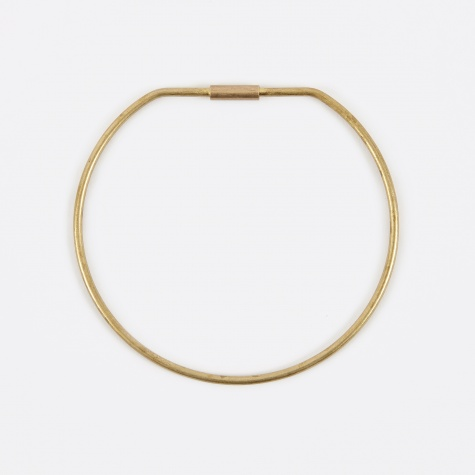 Contour Key Ring - Hoop