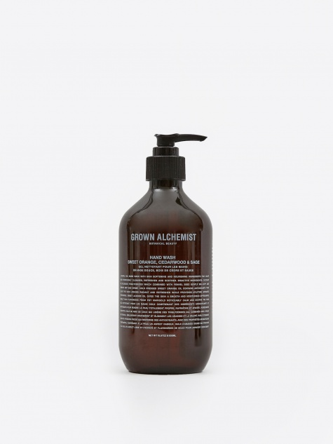 Hand Wash: Sweet Orange, Cedarwood & Sage - 500m