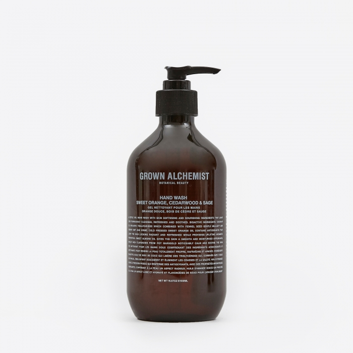 Grown Alchemist Hand Wash: Sweet Orange, Cedarwood & Sage - 500m (Image 1)