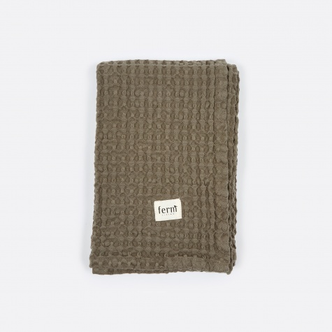 Organic Hand Towel - Dark Grey