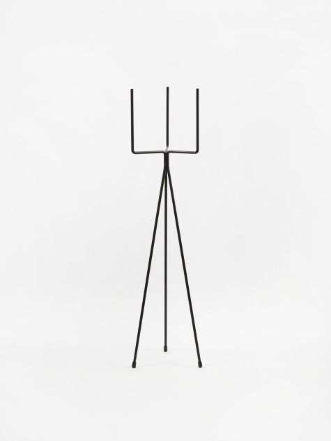 High Plant Stand - Black