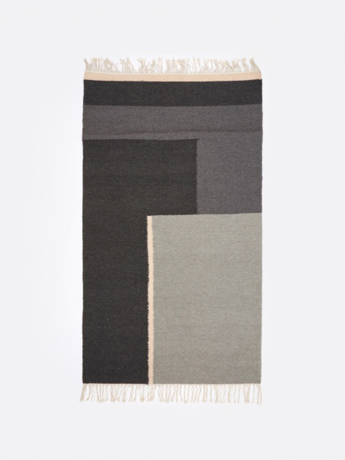 Ferm Living Kelim Rug - Section - Small (Image 1)