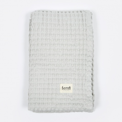 Organic Bath Towel - Light Grey