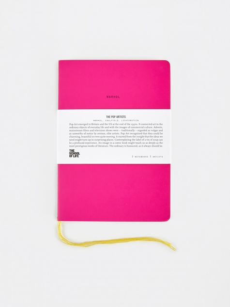 School of Thought Notebooks - The Pop Artists