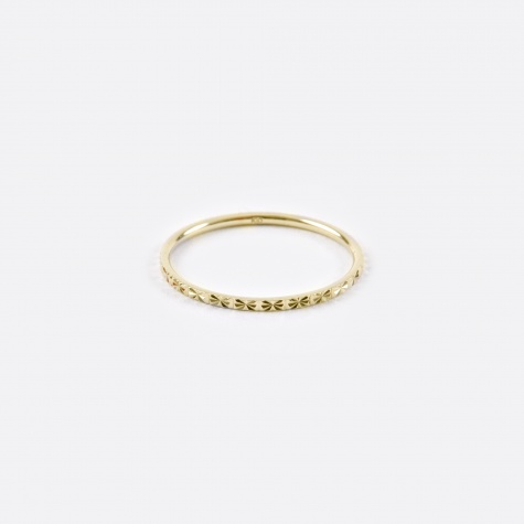 Promise Ring - 10K Yellow Gold